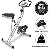 Best Folded Bikes - Exerpeutic Folding Magnetic Upright Exercise Bike with Pulse Review