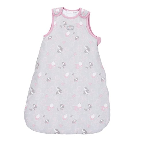 Chicco Princess - Saco de dormir sin mangas, talla 0-6 meses, color rosa