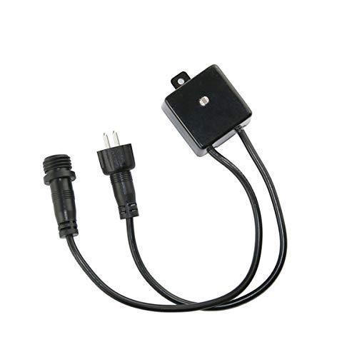 VBLED® 12V AC/DC Dämmerungssensor/Tag-Nacht-Schalter für Gartenbeleuchtung IP65 Wassergeschützt -