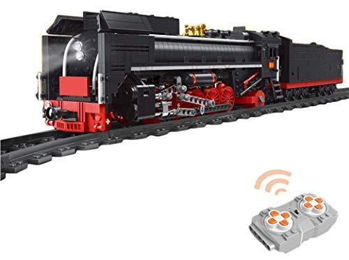 Ayanx 1552Pcs 2.4G 4CH Tren De Vapor a Control Remoto, Tren Eléctrico...