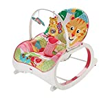 Fisher-Price - Mecedora de bebé a niño rosa