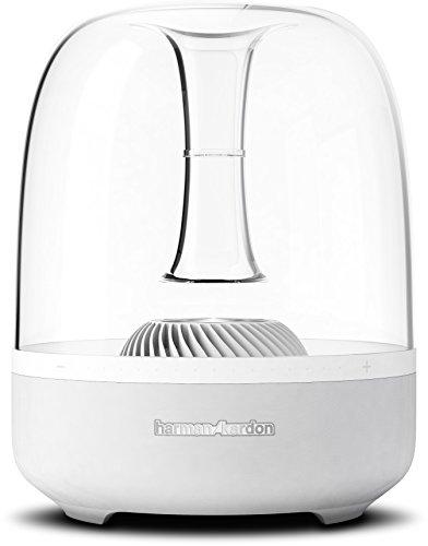 Harman Kardon Aura Studio Bluetooth 360 Degree Speaker System with 4.5' Subwoofer (White)