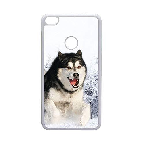 Delgado Cajas De Plástico Niño Compatible para Huawei P10Lite Impresión Siberian Husky 5