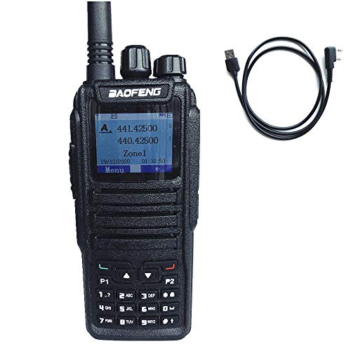 Baofeng DM-1701 Dual Band Tier I & II DMR Radio 3000 Channels, Color Display with PRG Cable & Earpiece. Buy it now for 99.88