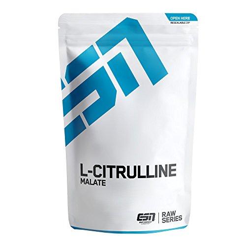 ESN L-Citrullin Malat – 500 g – 100 Portionen – hochwertiges reines L-Citrullin Malat – Vegan – Hergestellt in Deutschland