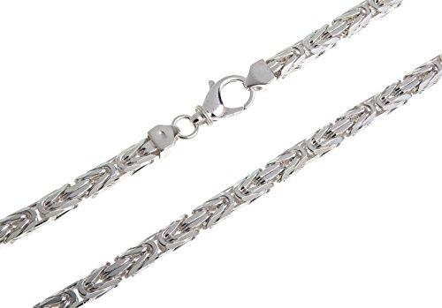 Königskette 7mm, Silberkette - Länge wählbar 38-120cm - echt 925 Silber