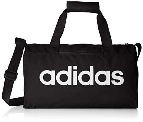 adidas LIN CORE DUF XS Gym Bag, Black/White, One Size