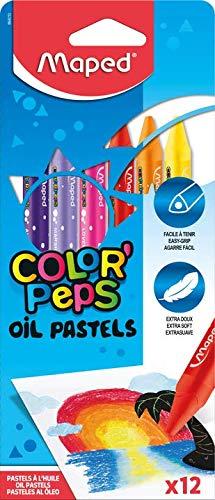 Color Peps 864010 - Pack de 12 lápices ceras