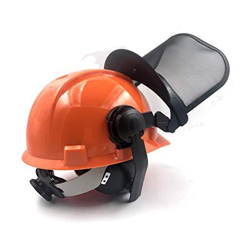JINOU - Casco de protección facial multifuncional para comunicación, bosque y motosierra, para resistencia a interferencias y escuchar música