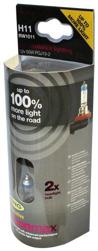RING RW1011 2 Ampoules H11 12V Xenon Max +100%