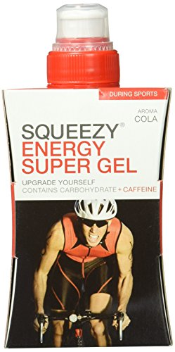 Squeezy Energy Super Gel 125 ml, Cola & Koffein