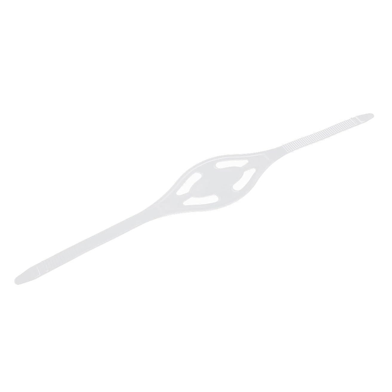 生き残り誰がマーケティングDovewill シリコン マスクストラップ マリン ダイビング シュノーケリング 快適性 2色2サイズ選べる - クリア, L