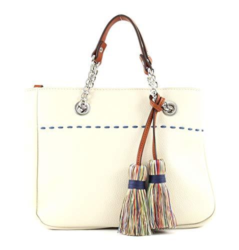 ESPRIT Tate City Bag Beige Damen Handtasche Tasche Taschen Schultertasche Stadttasche Umhängetasche Modern