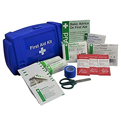 Safety First Aid Small Kit For Kitchens (Blue Box) by Safety First Aid Group