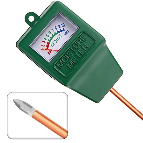 Cojoy Moisture Meter/Soil Sensor Meter/Water Monitor/Plant Care Hygrometer for Indoor, Outdoor, Gardening, Farming Use.