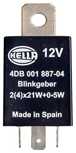 Preisvergleich Produktbild HELLA 4DB 001 887-041 Blinkgeber,  12V,  elektronisch,  mit Halter