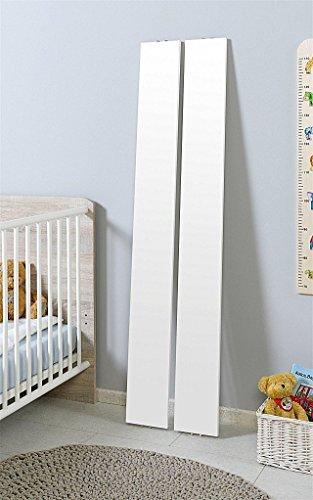 Babyzimmer Komplettset/Kinderzimmer komplett Set ELISA verschiedene Varianten in Eiche Sonoma/Weiß (Umbauseiten)