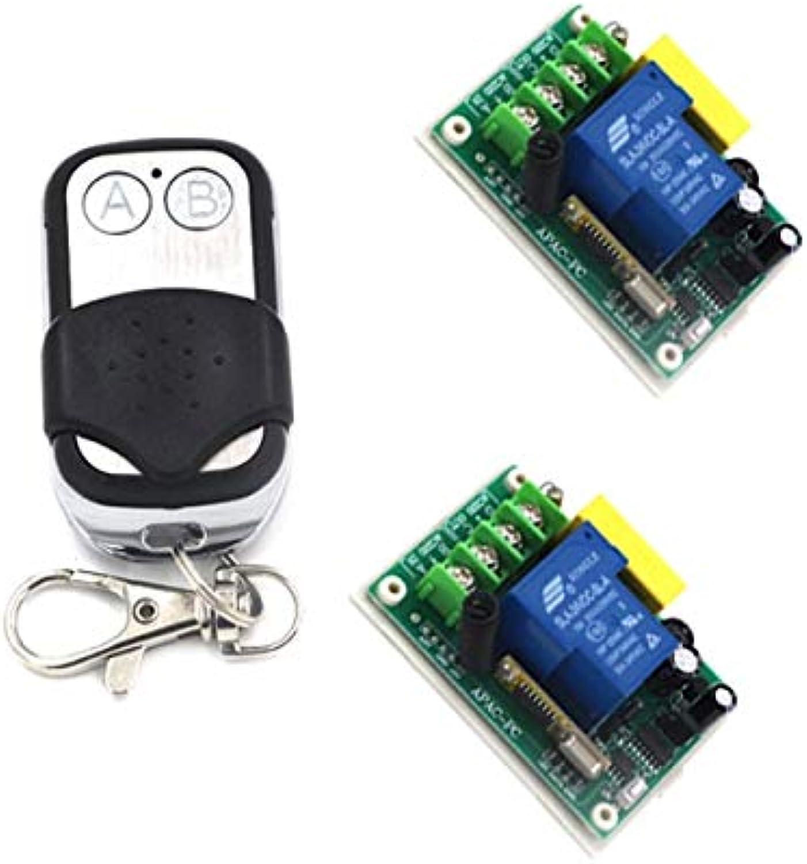 220V Wireless Switch Remote Control System 30A 3000W RF 433MHZ 315MHZ Lamp Control Jog SelfLock InterLock SKU  5155