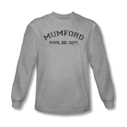 Beverly Hills Cop - Mumford shirt à manches longues pour homme au Heather -, Large, Heather