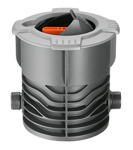 Gardena Sprinklersystem Regulier-und Absperrdose: Zur Regelung einzelner Regner oder Regnergruppen, unterirdische Montage, versenkbarer Kugeldeckel, entnehmbares Sieb (2724-20)