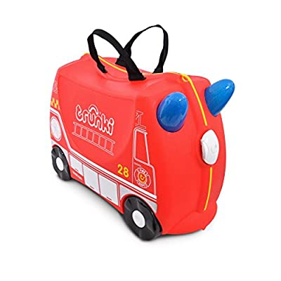 Trunki Children's Ride-On Suitcase: Fire Engine