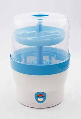 H+H BS 29b Babyflaschen-Sterilisator für 6 Flaschen in blau - 4
