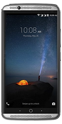 "ZTE Axon 7 - Smartphone Libre de 5,5"" (4G, Qualcomm Snapdragon 820, 4 GB RAM, Almacenamiento Interno de 64 GB, Bluetooth, WiFi, Android), Color Plateado"