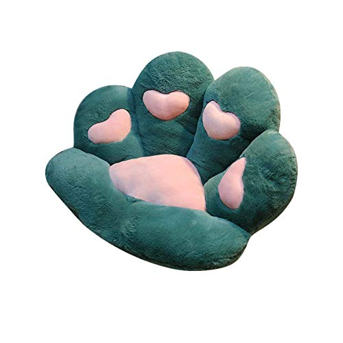 JLKDF Cojín de Felpa para Patas, cojín de Asiento Suave y Grueso, cojín para Silla, cojín para Respaldo de sofá para Adultos y niños, 80 x 70 cm