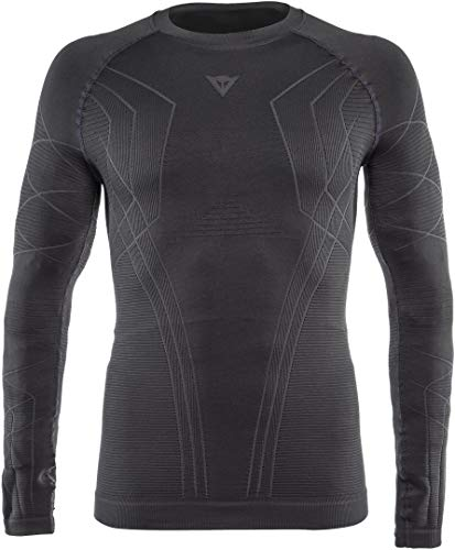 Dainese Hp1 BL M Shirt Layer de Ski Homme, Stretch-Limo/Gunmetal, FR : M (Taille Fabricant : M)
