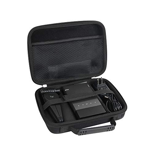 Hermitshell Hard Travel Case Fits Vamvo / ELEPHAS Ultra Mini Portable Projector 1080p Supported HD DLP LED Rechargeable Pico Projector