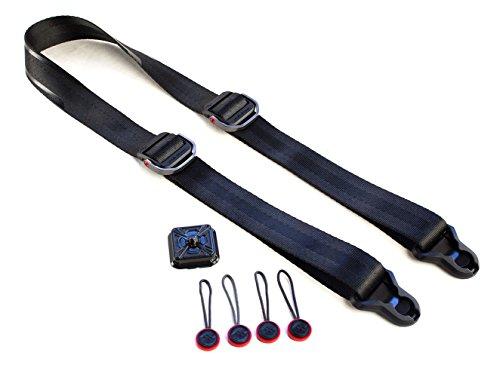 Peak Design SlideLITE SLL-1 Camera Strap for Mirrorless Camera (Black)