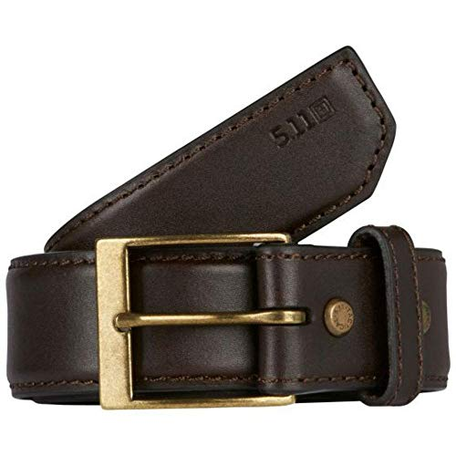 5.11 Tactical Ceinture Cuir Casual Homme, Classic Brown, FR (Taille Fabricant : 4XL)