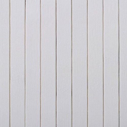 FESTNIGHT Divisore Separatore Stanza In Bambù Bianco