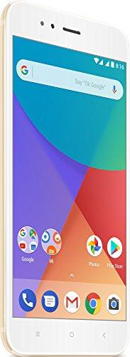 """Xiaomi Mi A1 - Smartphone de 5.5"""" (RAM de 4 GB, memoria interna de 32 GB, 4G, Full HD), color dorado [versión española]"""