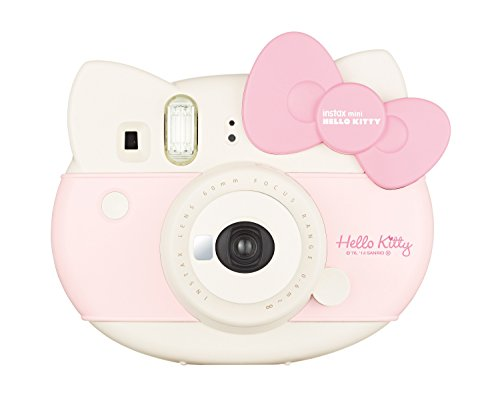 Fujifilm Instax Mini Hello Kitty - Cámara instantánea de 0.37 MP, Rosa y Blanco