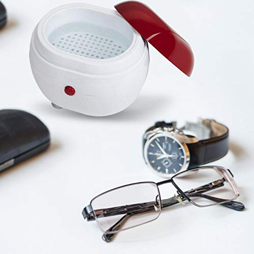 Sundlight Ultrasonic Cleaner, Sonic Cleaner with Digital Timer and Basket for Jewelry,Ring,Eyeglasses,Denture,Watchband,Coins,Small Metal Parts,Daily Necessaries,Tattoo Equipment