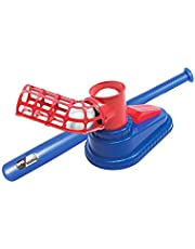 MezoJaoie Baseball for Toddlers - tee Baseball Sport Game Active Training Toys Set with Toy Tennis Rackets