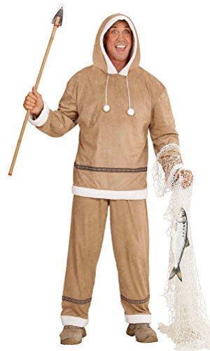 Karneval-Klamotten Kostüm Eskimo Inuït Herr Kostüm Karneval Nordpol Herrenkostüm
