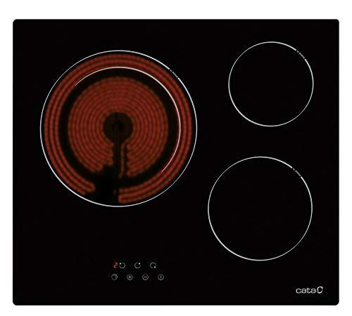 Placas Vitroceramicas 3 Fuegos Marca Cata