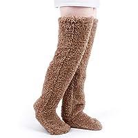 極暖 足が出せるロングカバー レッグウォーマー ロング ボア もこもこ ルームソックス ルームシューズ 靴下 足ぽかぽか ソックス 厚手 あったかグッズ ロングカバー 冷え性