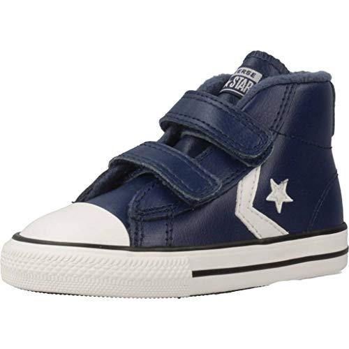 Converse Star Player 2V, Zapatillas de Deporte Unisex niño, Multicolor (Navy/Mason Blue/Vintage White 426), 23 EU