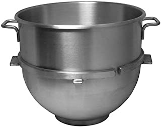 Vollum 80-Quart Commercial Stainless Steel Mixing Bowl for Hobart Mixer - Hobart Equivalent