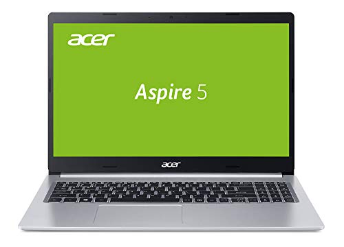 Acer Aspire 5 (A515-54G-75DL) 39.6 cm (15.6 Zoll Full-HD IPS matt) Multimedia Laptop (Intel Core i7-8565U, 8 GB RAM, 512 GB PCIe SSD, NVIDIA GeForce MX250, Win 10) silber
