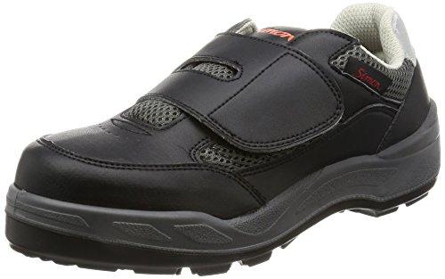 [シモン] プロスニーカー 短靴 マジック 8818 ブラック 22.5