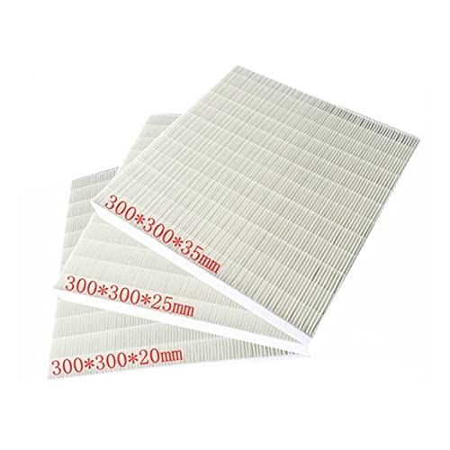 liangzai Air Purifier Fit For True Filter DIY Filter 300 * 300 * 20/25/35mm hilarity (Color : 300x300x25mm)