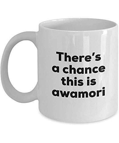 Ceramic Mug Awamori - Es Besteht Die Möglichkeit, Dass Dies Awamori - Awamori Liebhaber Für Kaffeebecher Geschenke Idee Geburtstag Elegante Porzellanbecher 330Ml Porzellantasse Teaspecial Keramik