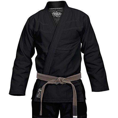 Venum Elite Classic Kimono BJJ Gi, Unisex Adulto, Negro, A1.5