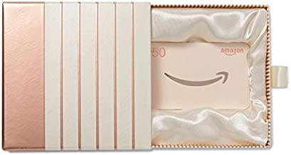 Amazon.com $50 Gift Card in a Premium Gift Box (Rose Gold)