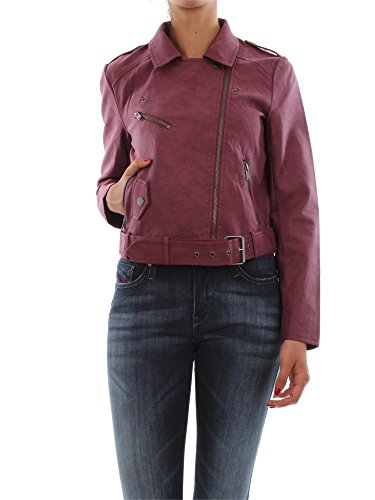 ONLY DEEP Faux Jacke 15121537, Farbe: Windsor Wine/Rot; Größe: S/36