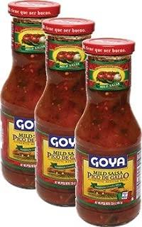 Goya Salsa Pico de Gallo/ Mild 17.6 oz Pack of 3
